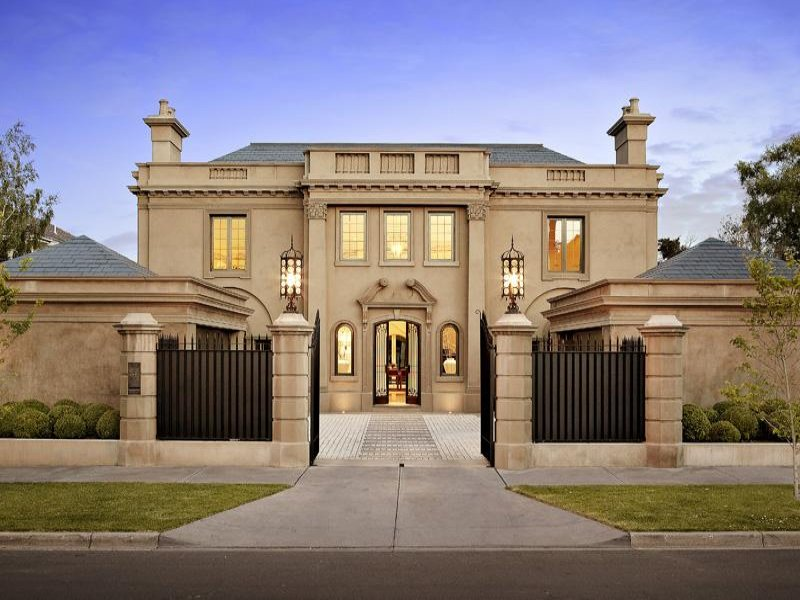 Peachy Luxurious Gated Home In Melbourne Australia Homes Of The Rich Home Interior And Landscaping Ponolsignezvosmurscom