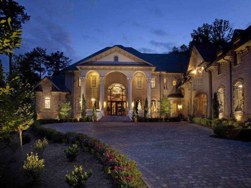 Which atlanta brick mansion do you prefer homes of the rich for Dream homes in atlanta