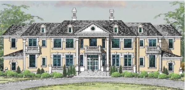 Proposed $18 Million Mansion In Needham, MA | Homes of the Rich