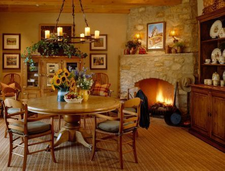 Hearth Room Homes Of The Rich