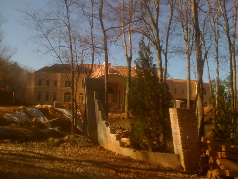 large mansion under construction in atlanta ga homes of