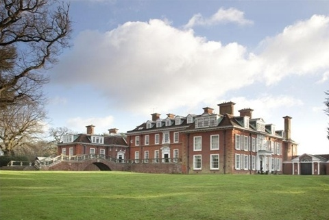 Pyrford Court In Surrey England on luxury mansion estate house plans