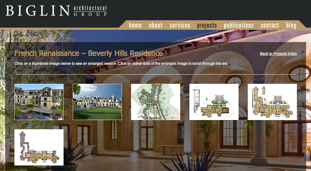 Beverly Hills French Renaissance Mega Mansion On The Drawing Boards