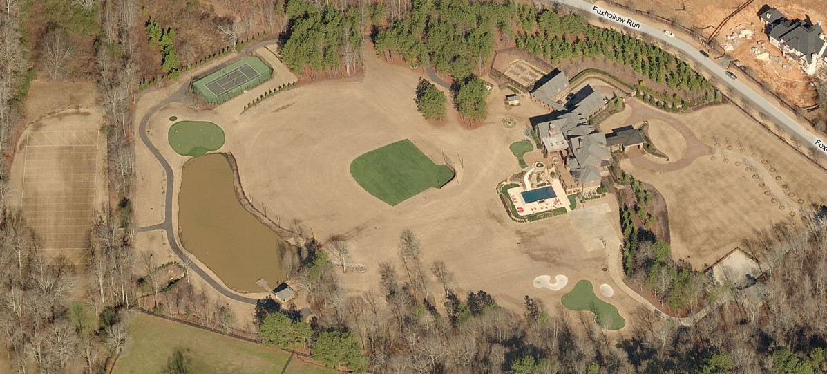 22 Acre Estate In Alpharetta, GA With Park-Like Grounds