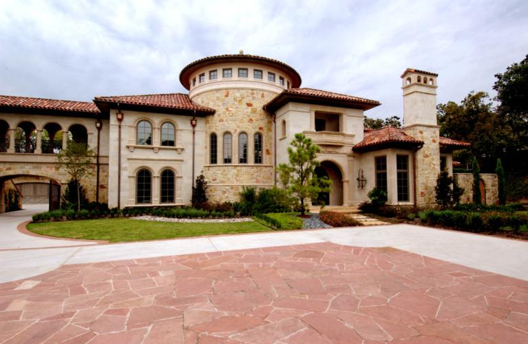 H hughes properties custom home builders homes of the rich Italian style house
