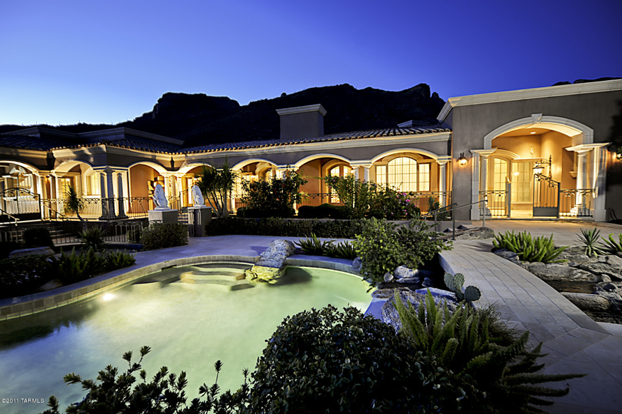 13 000 Square Foot Mediterranean Mansion In Tucson Az