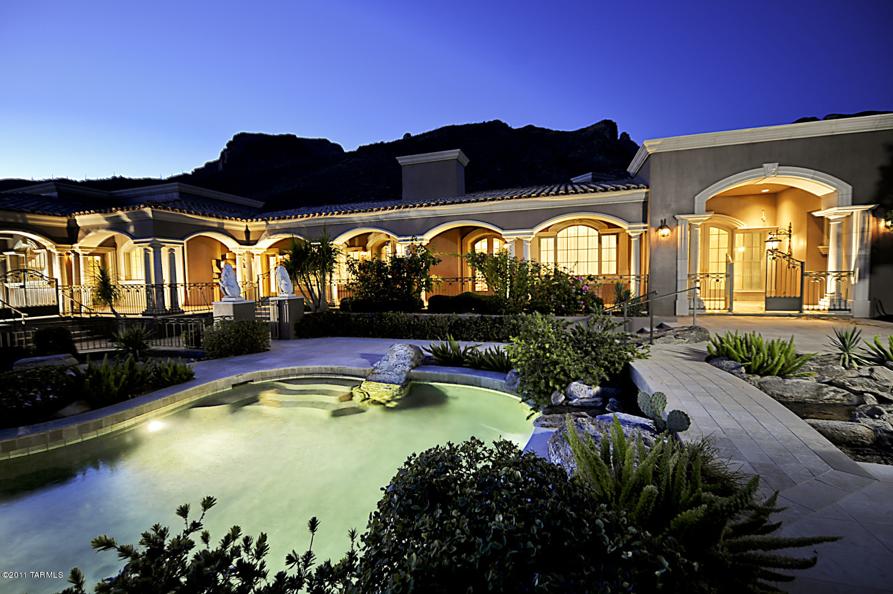 13 000 Square Foot Mediterranean Mansion In Tucson Az
