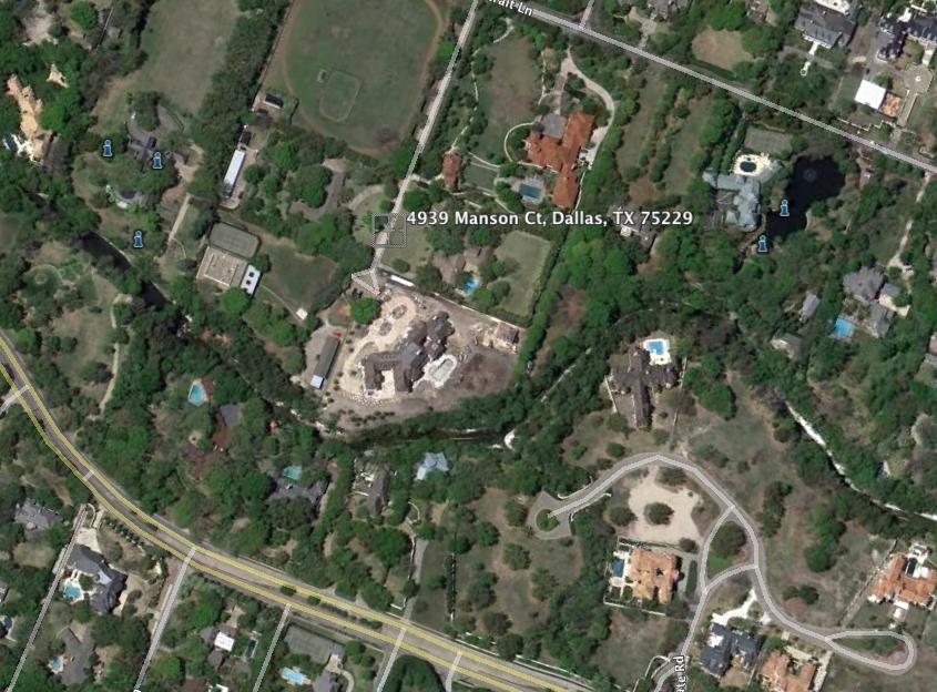24,475 Square Foot Mega Mansion Under Construction In Dallas, TX
