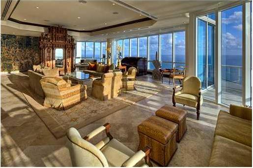 Beautiful $35 Million Condo In Miami Beach, FL