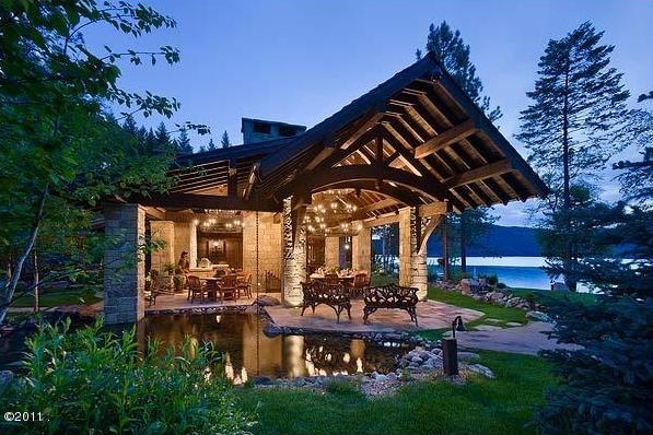 The lodge at carver bay in whitefish montana homes of for Montana home builders