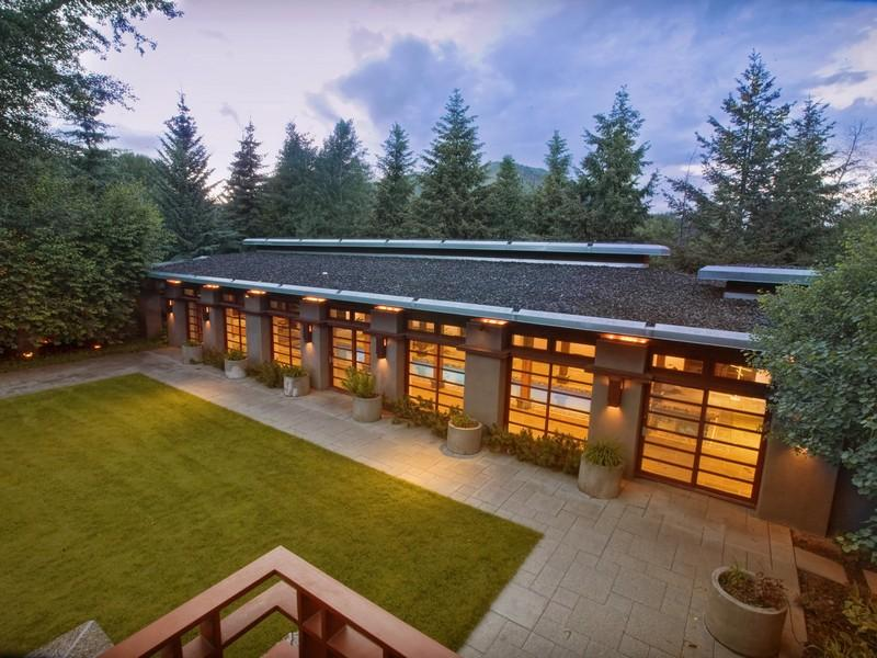 12,000 Square Foot Contemporary Home In Hailey, Idaho