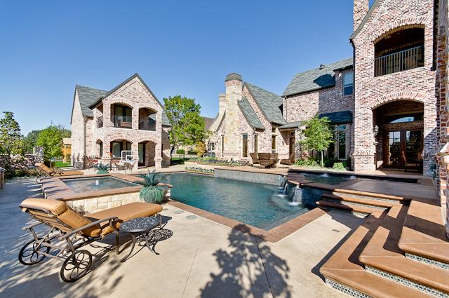 $2.198 Million French Style Home In Colleyville, TX
