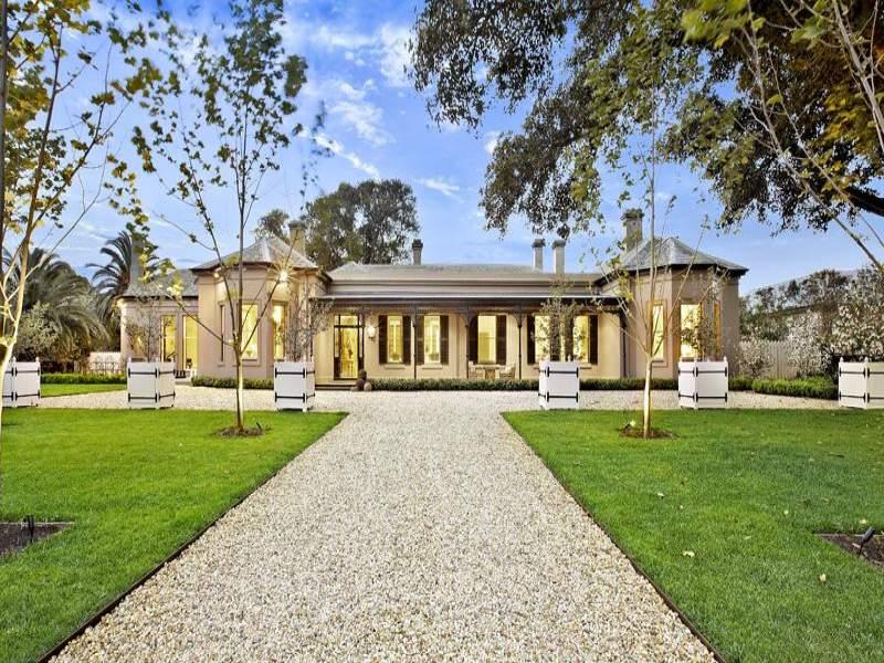 victorian style villa in victoria australia - Australian Victorian Houses