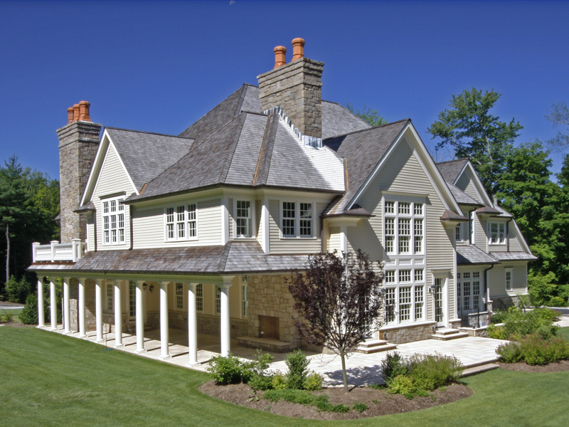 $5.995 Million Georgian Colonial In Greenwich, CT