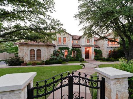 11 500 square foot mediterranean mansion in dallas tx for Mansions in dallas tx