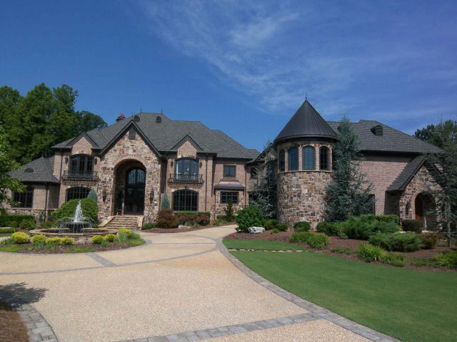 16000 Square Foot English Country Mansion In Braselton Ga on French Country Luxury House Plans