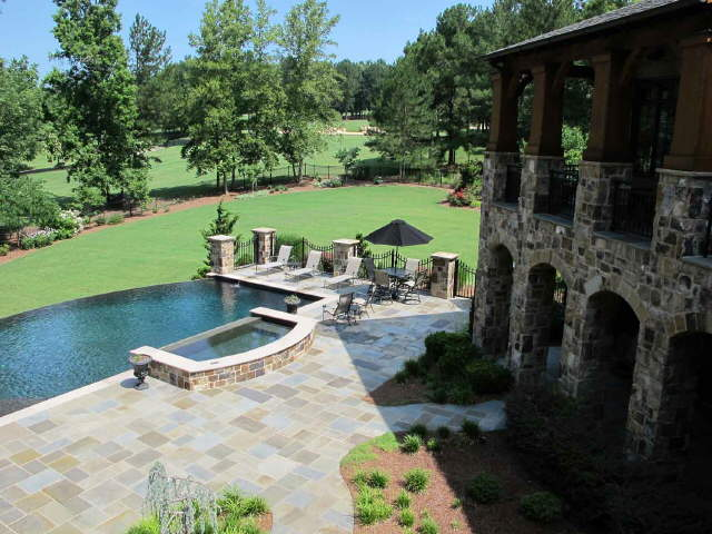 16,000 Square Foot English Country Mansion In Braselton, GA