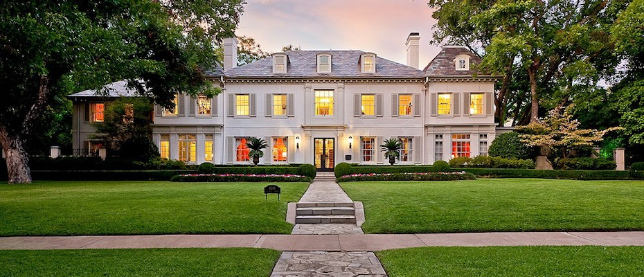 1924 French Inspired Mansion In Highland Park TX