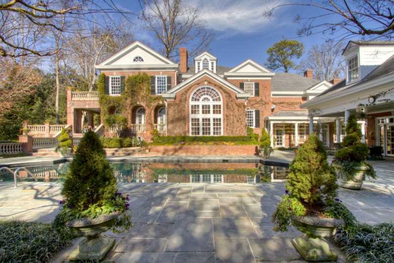 $8.5 Million Georgian Mansion In Atlanta's Buckhead Neighborhood