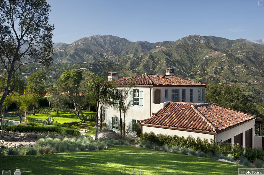 1938 Spanish Colonial Revival Home In Santa Barbara Ca