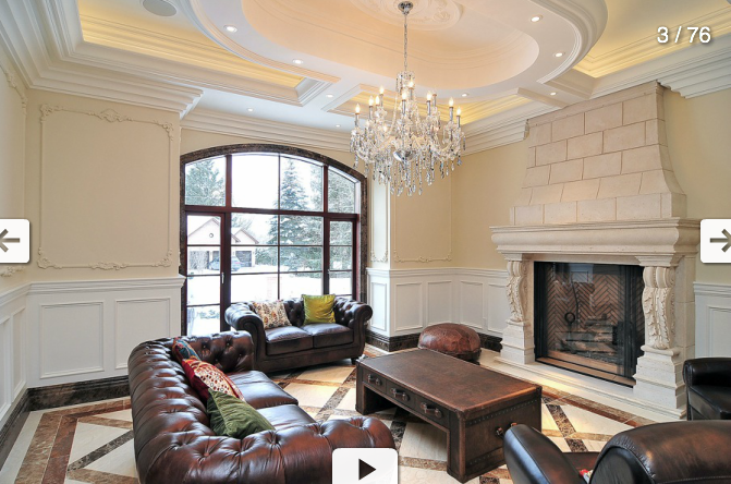 Lavish Ontario Mansion With Indoor Swimming Pool Homes