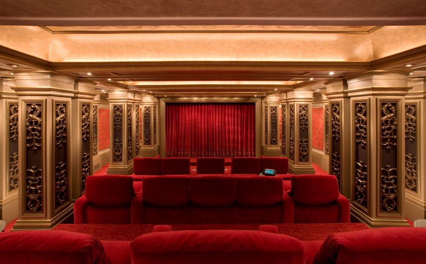 Theo Kalomirakis Has Designed Some Of The World S Most Spectacular Jaw Dropping Home Theaters His Company Designs Traditional Contemporary Art Deco And