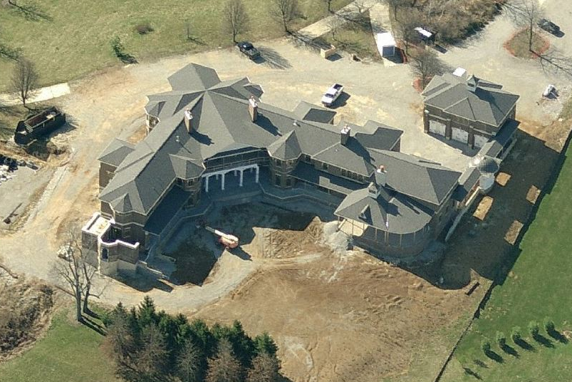 30,000+ Square Foot Mega Mansion In Nicholasville, KY