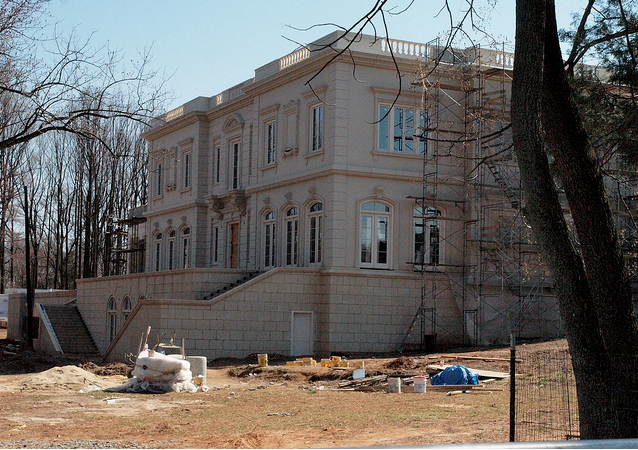 More Pictures Of The 30,000+ Square Foot Mega Mansion Being Built In Potomac, MD