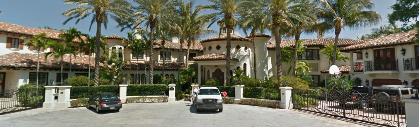 Million Mediterranean Waterfront Estate In Fort Lauderdale FL - Before and after from a mediterranean house fort lauderdale