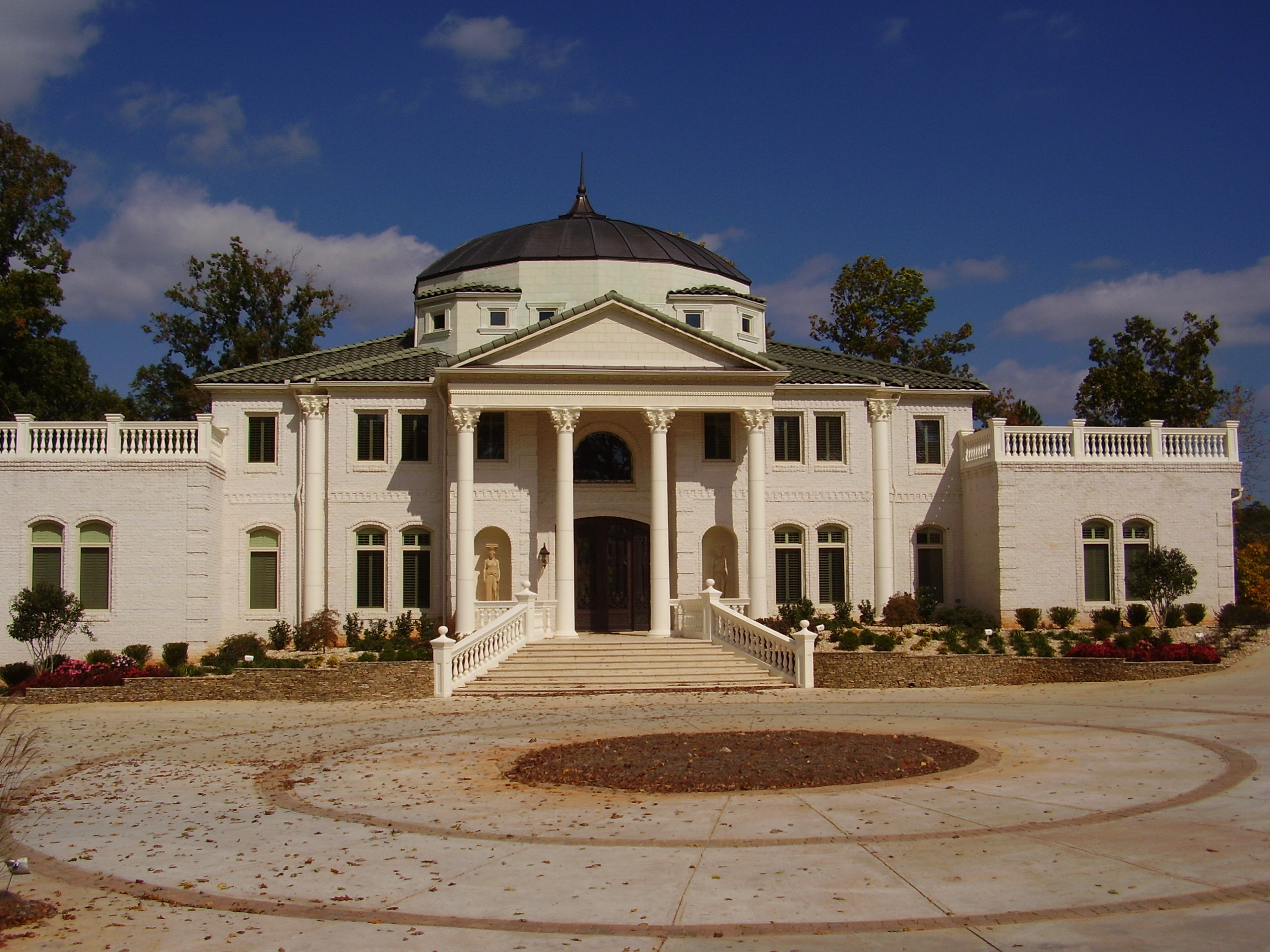 Two Mansion Compound In Atlanta Ga Homes Of The Rich