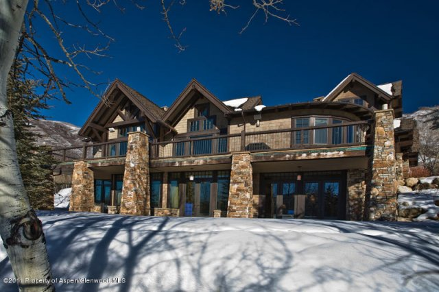 8 000 square foot mountaintop home in aspen co homes of for 8000 square foot building