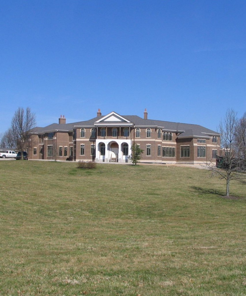 30 000 square foot mega mansion in nicholasville ky for Homes of the rich