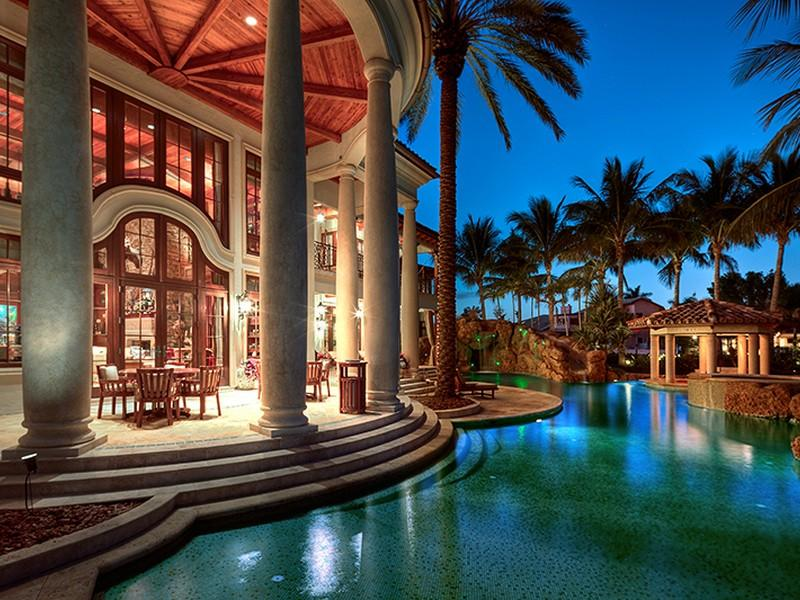 22 Million Mediterranean Waterfront Estate In Fort