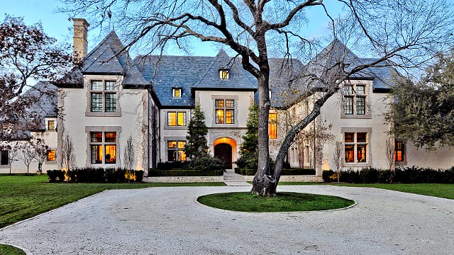 Stunning French Estate In Dallas Preston Hollow