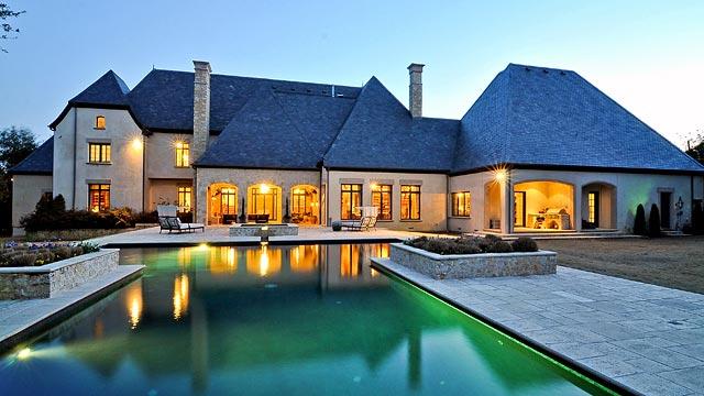 Stunning French Estate In Dallas' Preston Hollow Neighborhood