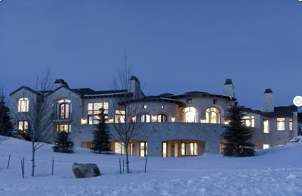 10,500 Square Foot Mountaintop Home In Park City, Utah