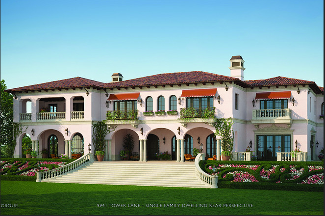 A healthy dose of mega mansion porn homes of the rich for Wall street journal mansion