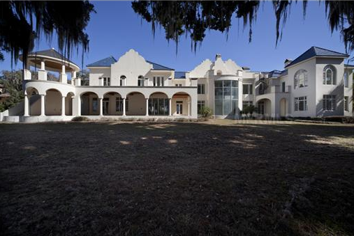 13,000 Square Foot Unfinished Bermuda Colonial Style Mansion In Winter Park, FL