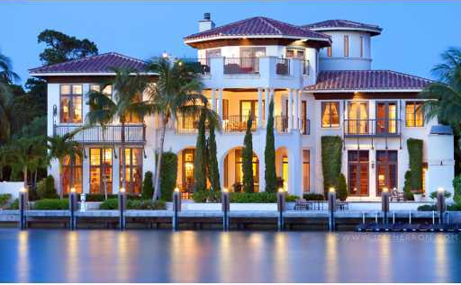 $7.995 Million Lakefront Mansion In Boca Raton, FL