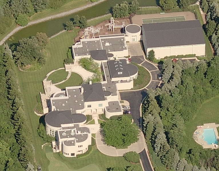 Michael Jordan Lists Highland Park Il Mega  pound For 29 Million on house floor plans with basketball court