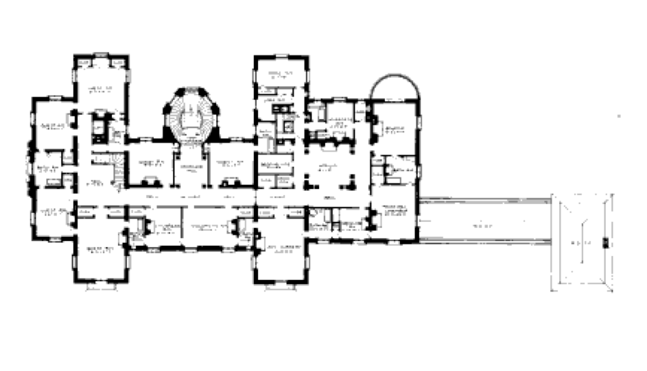 Floor plans homes of the rich for Homes of the rich floor plans