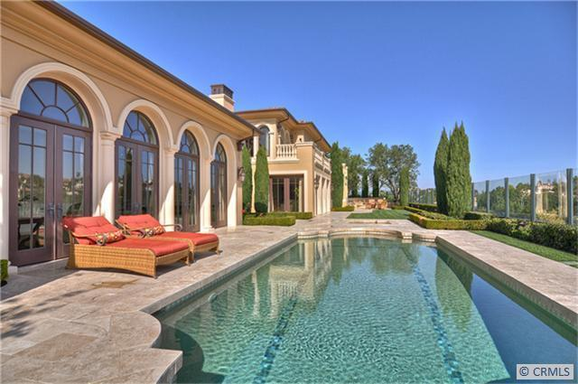 8,000 Square Foot Tuscan In Newport Coast, CA