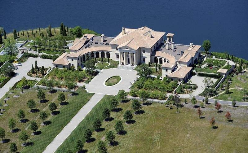 Christel dehaan s indianapolis mega estate homes of the for Most expensive house in michigan