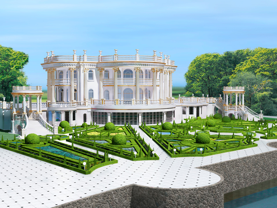 Lavish Ukrainian Mansions