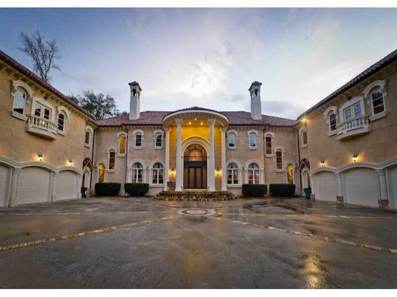 Million Traditionalmediterranean Mansion In Atlanta Ga