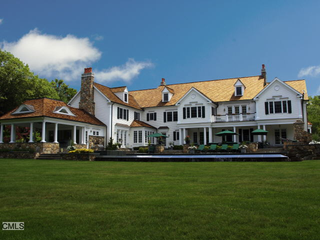 $9.5 Million 12,000 Square Foot Colonial In New Canaan, CT