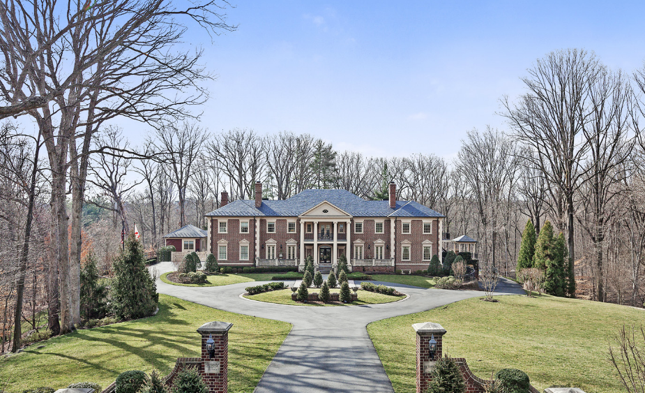 15 000 Square Foot Georgian Mansion In McLean VA