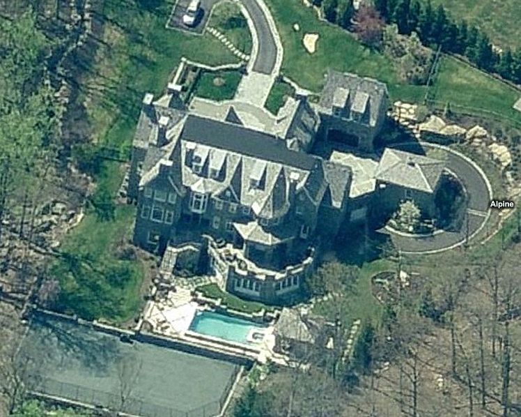 Lavish Stone Mansion In Alpine NJ Homes Of The Rich The 1 Real