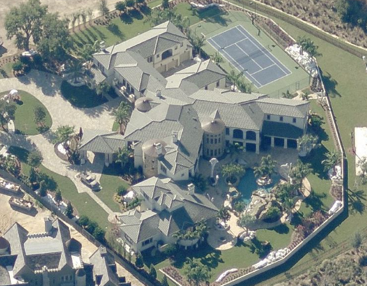 Johnny Damon's 29,000 Square Foot Florida Mega Mansion