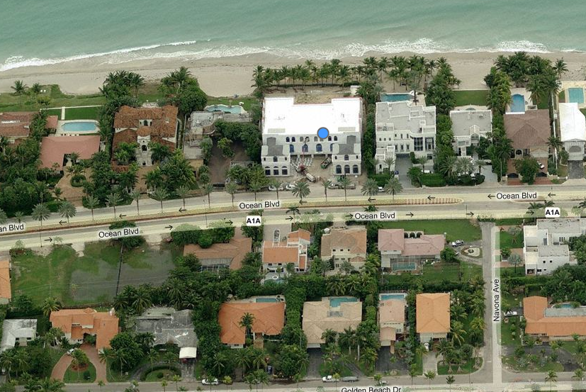 The White Palace  A Newly Built 25,000 Square Foot Mega Mansion In Golden  Beach, FL